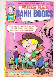 Richie Rich Bank Book # 16 strict NM- CoverWestern cowboy
