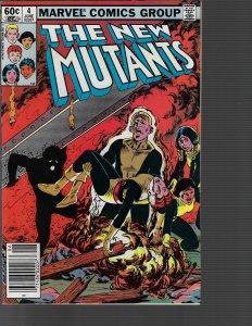 New Mutants #4 (Marvel, 1983)