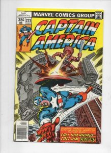 CAPTAIN AMERICA #223, VF/NM, Animus, Train 1968 1978, more CA in store