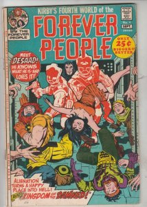 Forever People #4 (Sep-71) FN/VF Mid-High-Grade Big Bear, Beautiful Dreamer, ...