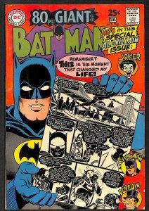 Batman #198 VG- 3.5