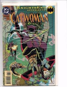 DC Comics (1993) Catwoman #13 Jim Balent Art KnightsEnd Aftermath Batman Robin