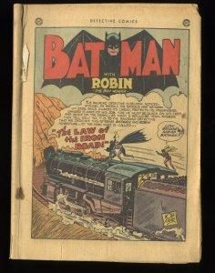 Detective Comics (1937) #162 Coverless Complete!