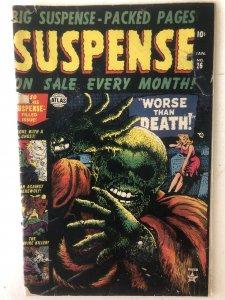 Suspense 26,GD, great Everett classic cvr, see pics