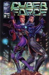 Cyberforce (Vol. 2) #10SC VF/NM; Image | save on shipping - details inside