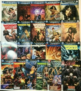 WONDER WOMAN#10-40 VF/NM LOT 2016 (20 BOOKS) DC COMICS