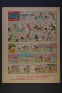 Micky Mouse, Goofy,Little Hiawatha Sunday May 10, 1942