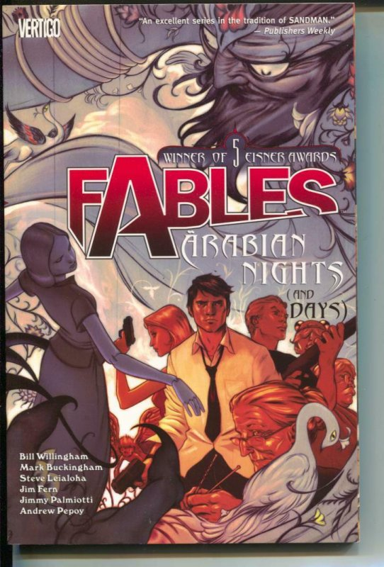 Fables-Vol 7-Bill Willingham-TPB- trade