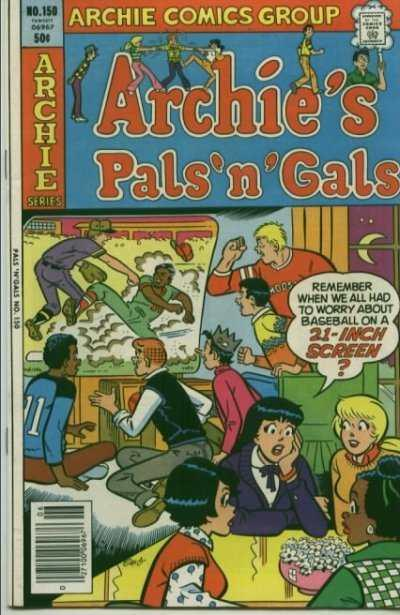 Archie's Pals 'N' Gals #150, VF+ (Stock photo)