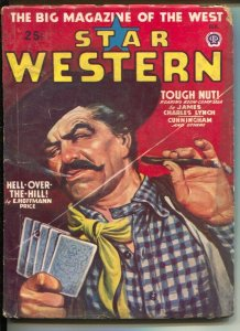 Star Western 2/1948-Popular-pulp violence-poker card game-cover-E Hoffman Pri...