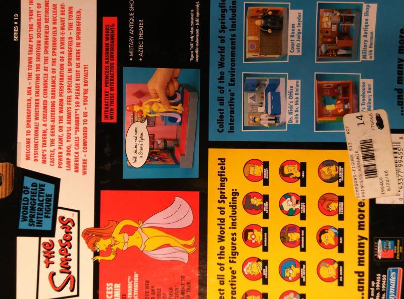 The Simpsons Princess Kashmir series 13