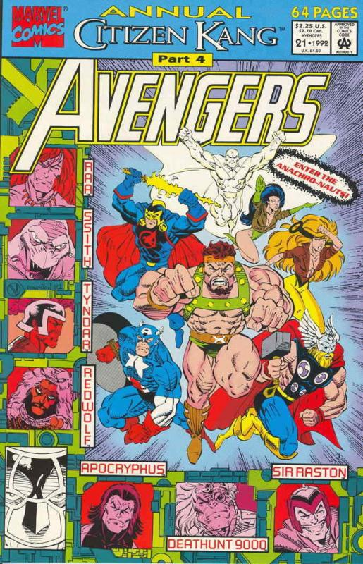 Avengers, The Annual #21 VF/NM; Marvel | save on shipping - details inside
