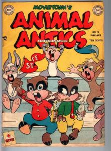 ANIMAL ANTICS #19-1948-RACCOON KIDS-HOWIE POST-GOLDEN AGE DC-VG VG