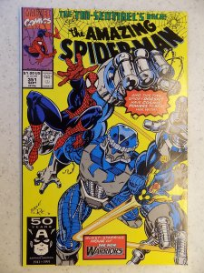 AMAZING SPIDER-MAN # 351 MARVEL ACTION ADVENTURE