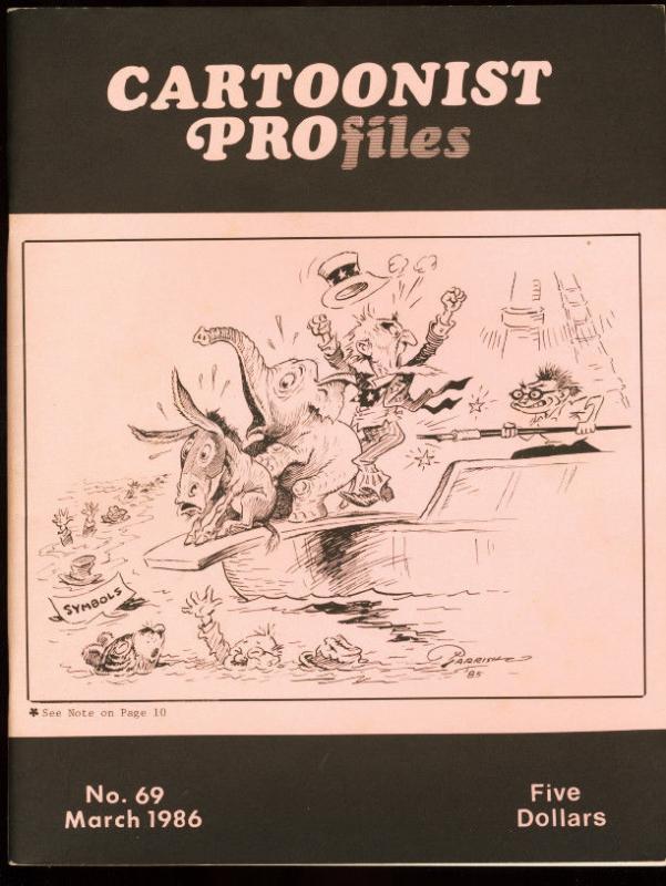 CARTOONIST PROFILES #69-1985-JOE KUBERT ART SCHOOL FN
