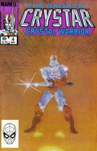 Saga of Crystar: Crystal Warrior #4, NM- (Stock photo)