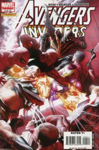 Avengers/Invaders #4 VF/NM; Marvel | save on shipping - details inside