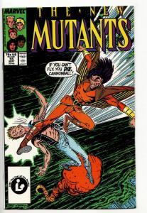 New Mutants #55 (Marvel, 1987) VF/NM