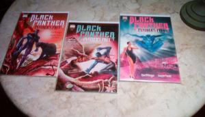 Black Panther Panther's Prey (1991 Marvel),PRICE SSet:#1-#3 FINE CONDITION (1991