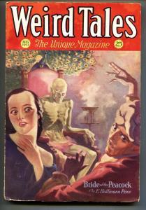 Weird Tales 8/1932-Horror-August Derleth-Pulp Magazine
