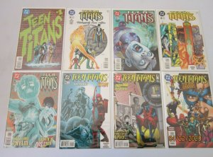 Teen Titans comic lot from:#1-24 2nd Series all 15 different 8.0 VF (1996)