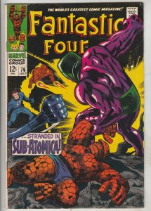 Fantastic Four #76 (Jul-68) NM- High-Grade Fantastic Four, Mr. Fantastic (Ree...