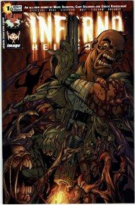 Inferno: Hellbound #1  Silvestri  Joe Benitez Variant