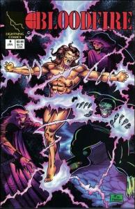 Lightning Comics BLOODFIRE #8 VF/NM