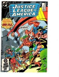 4 Justice League of America DC Comic Books # 238 239 240 241 JLA Superman BH15