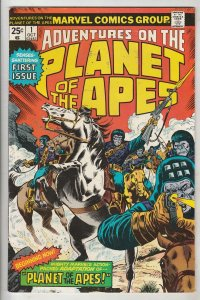 Planet of the Apes, Adventures On The  #1 (Oct-75) NM- High-Grade
