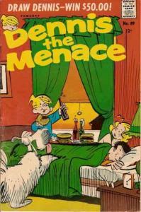Dennis the Menace (Fawcett) #89 VG; Fawcett   low grade comic - save on shipping