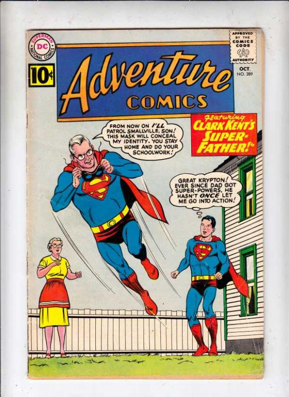 Adventure Comics #289 (Oct-61) VG/FN+ Mid-Grade Superboy