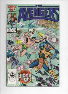 AVENGERS #272, NM, Alpha Flight, Sub-Mariner, 1963 1986, more Marvel in store
