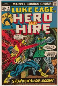 Luke Cage Hero for Hire #9 (May-73) VF/NM High-Grade Luke Cage