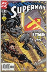 Superman   vol. 2   #168 FN (World's Finest Ring) Batman