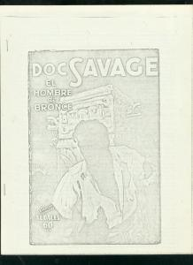 BRONZE SHADOWS #15 1968-PULP FANZINE-DOC SAVAGE-F COOK VG
