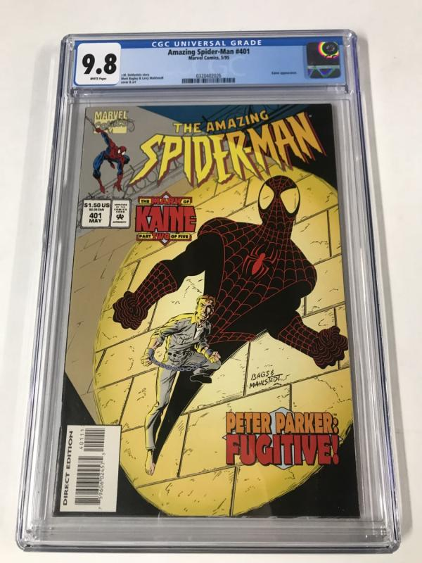 Amazing Spider-Man #401 CGC 9.8