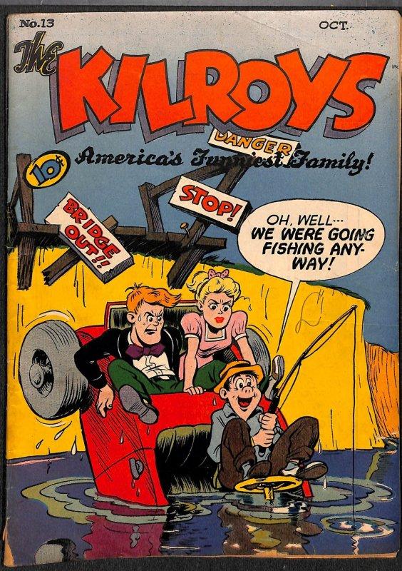 The Kilroys #13 VG+ 4.5