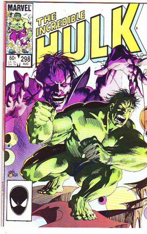 Incredible Hulk #298 (Jun-85) VF/NM High-Grade Hulk