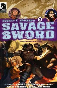 Savage Sword (Robert E. Howard's…) #3 VF/NM; Dark Horse | save on shipping - det