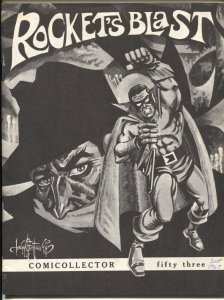 Rocket's Blast Comicollector  #53 1967-Shadow cover-early fanzine-buy / sell ...