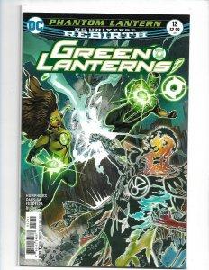 Green Lanterns #12 A Cover DC Rebirth NM Comics Book  nw108