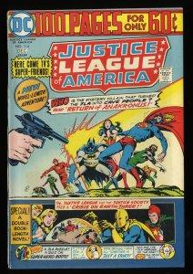 Justice League Of America #114 VF 8.0 DC Comics