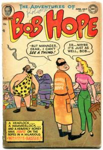 Adventures of Bob Hope #21 1953- DC Golden Age- Wrestling cover G