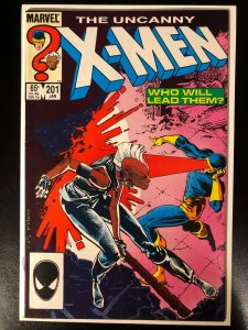 Uncanny X-Men 201 - 1st Appearance of Cable as a Baby