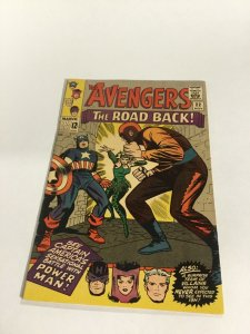 Avengers 22 Vf Very Fine 8.0 Marvel Comics Silver Age