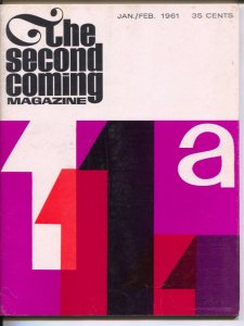 Second Coming Magazine #1 1/1961-1st issue-Hitchcock to Hitler-modern jazz-NY...