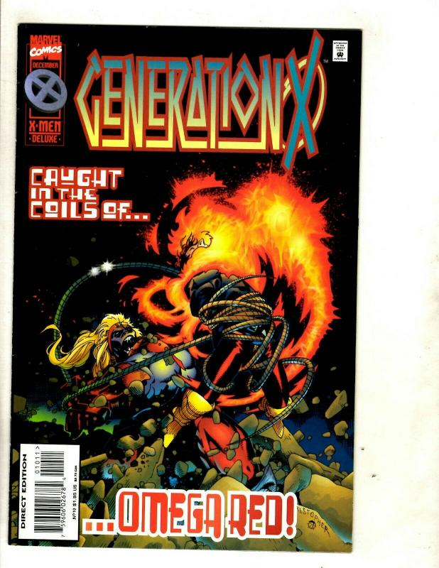 12 Generation X Marvel Comic Books # 1 2 3 4 5 6 7 8 9 10 11 12 X-Men EK2