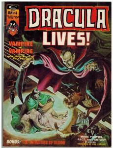 DRACULA LIVES 4 F-VF Jan. 1974