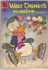 Comics and Stories, Walt Disney's  # 197  strict  GD-  artist  Carl Barks
